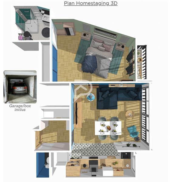 Appartement, 50,58 m²