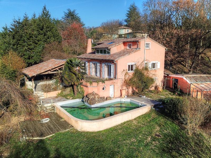 Charpente toiture terrasse jardin piscine - immoSelection
