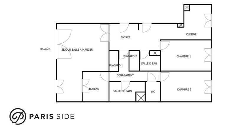Appartement, 89,39 m²
