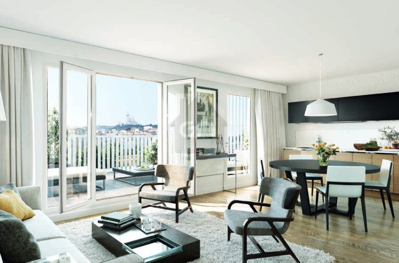 Appartement, 56,86 m²