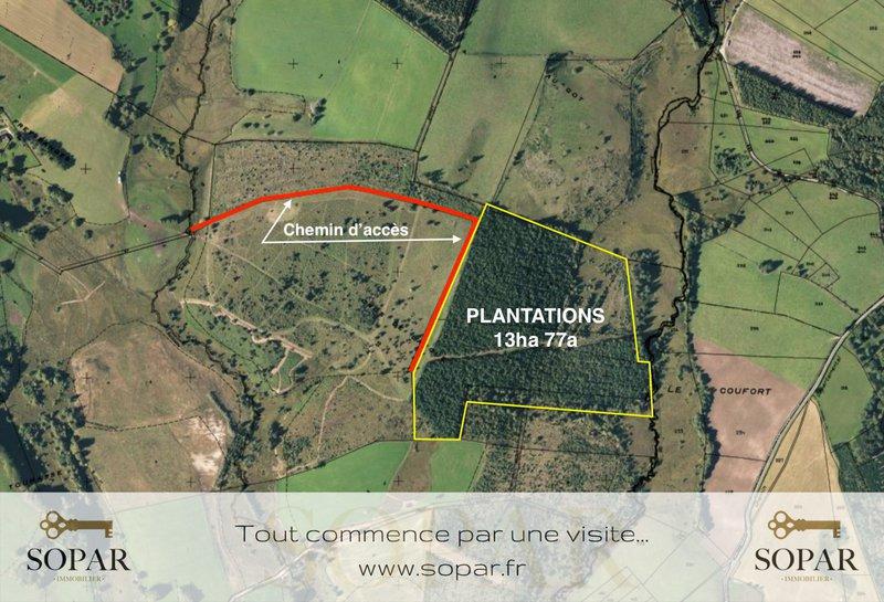 Terrain, 138 000 m²