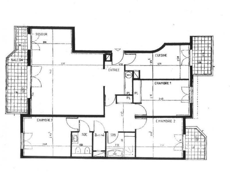 Appartement, 92,76 m²