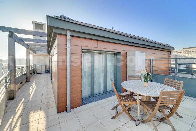 Appartement Dernier Etage Terrasse Bois Colombes Immoselection