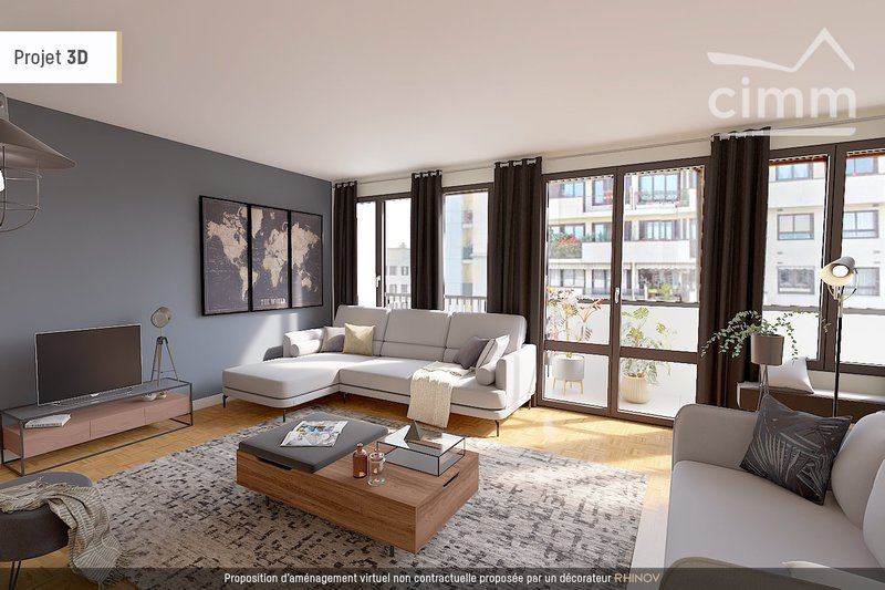 Appartement Balcon Bois Colombes Immoselection