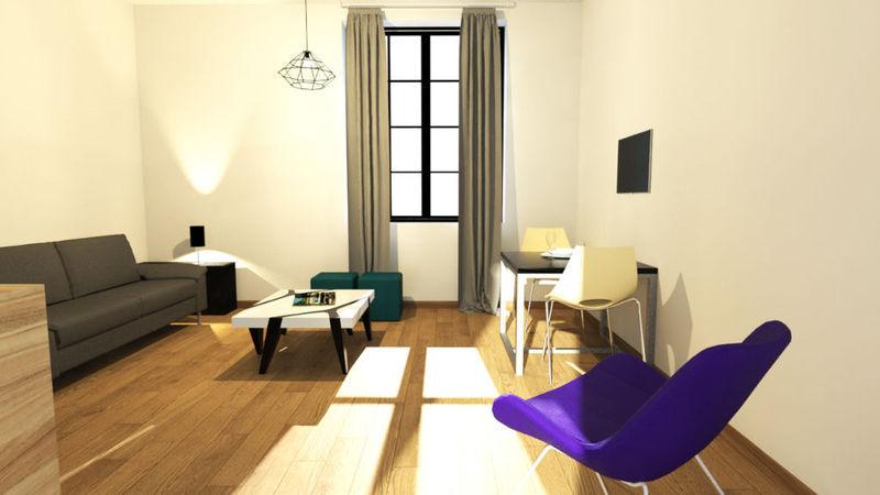 Appartement, 19,4 m²