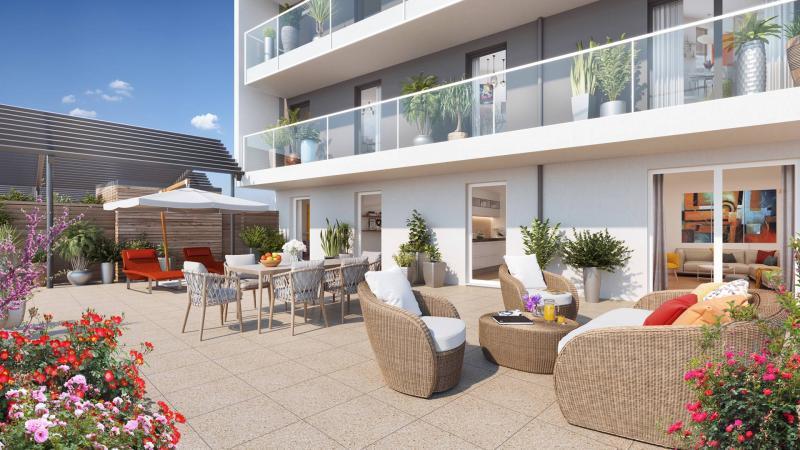 Appartement neuf, 38,47 m²