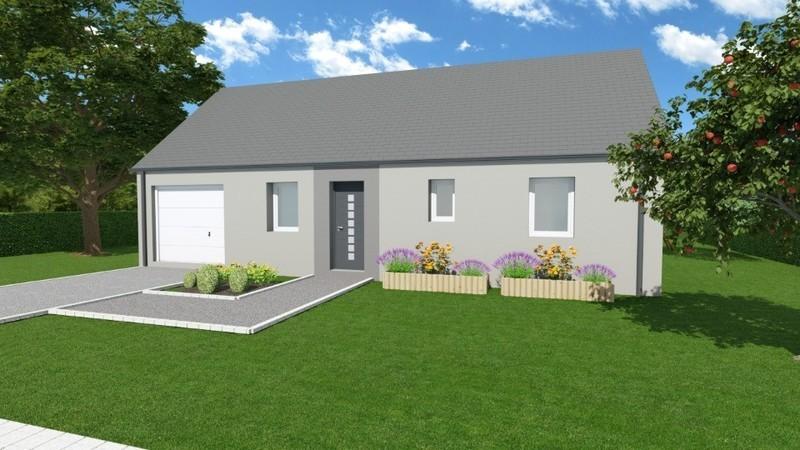 Maison neuve, 61 m²