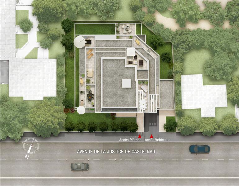 Appartement neuf, 24,31 m²