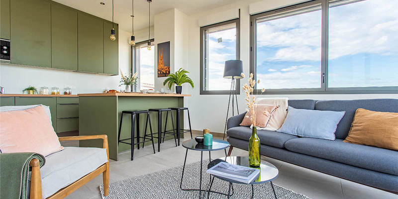 Appartement neuf, 69,76 m²