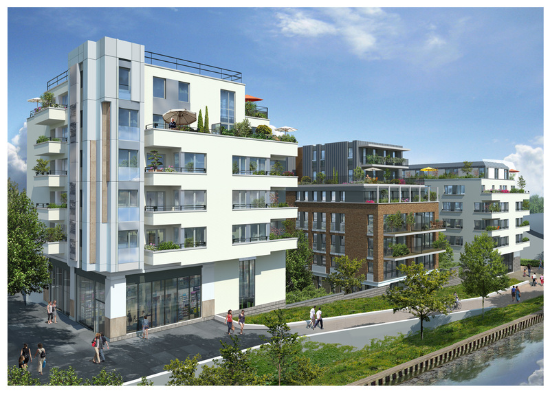 Appartement neuf, 76,79 m²