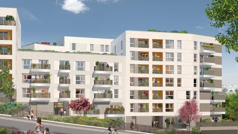Appartement neuf, 72,08 m²
