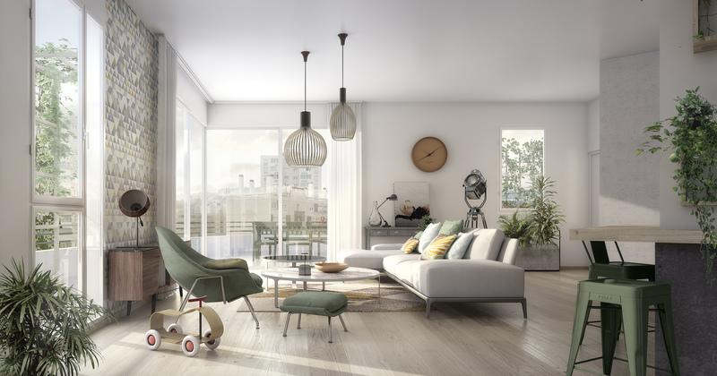 Appartement neuf, 47,1 m²
