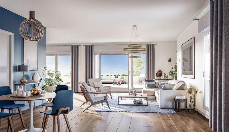 Appartement neuf, 46,1 m²