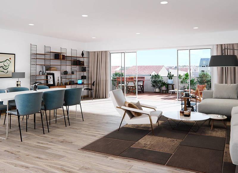 Appartement neuf, 82,5 m²
