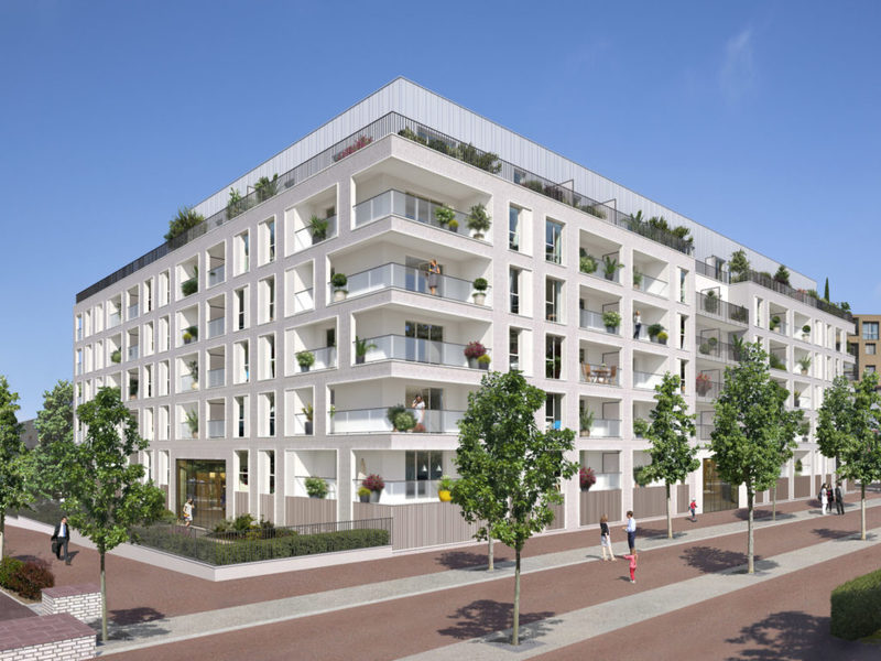 Appartement neuf, 84,84 m²