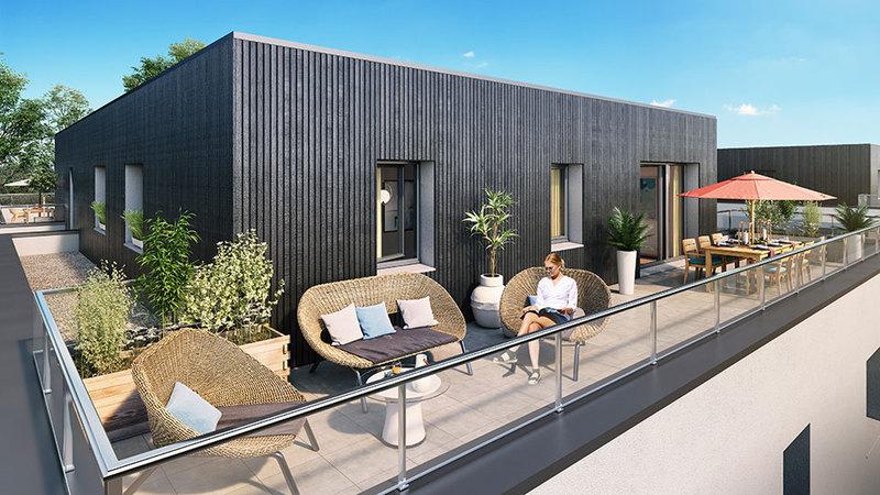Appartement neuf, 87,69 m²