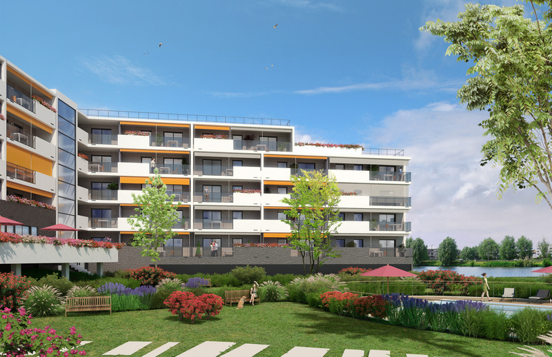 Appartement neuf, 58 m²