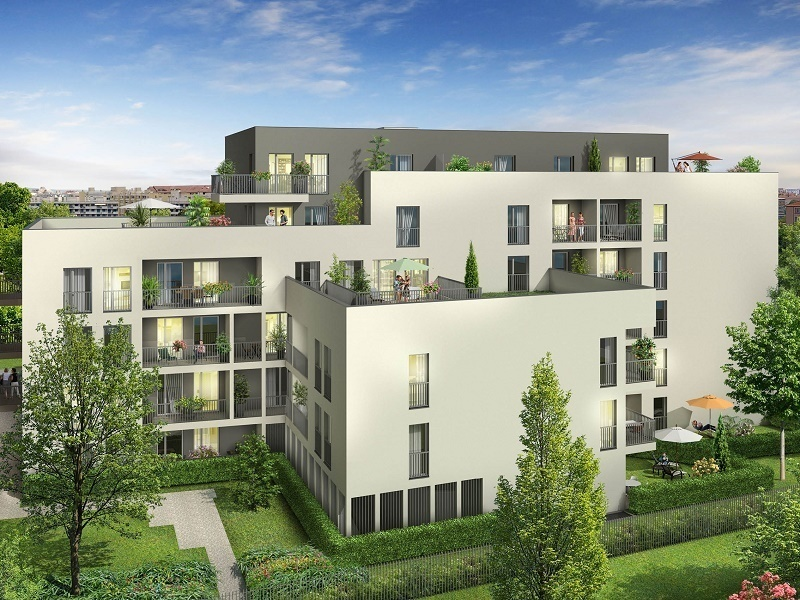 Appartement neuf, 46,65 m²