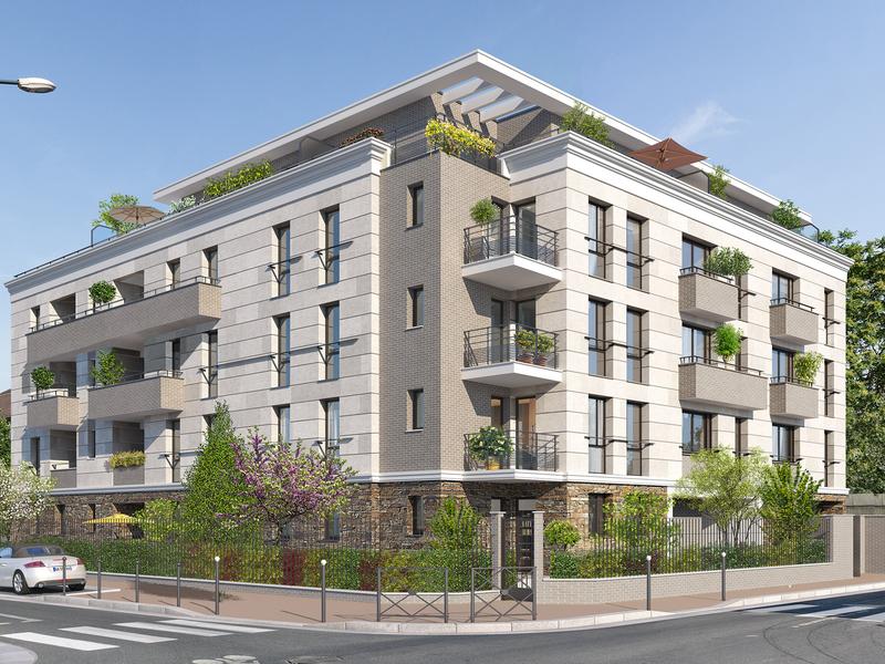 Appartement neuf, 64,55 m²