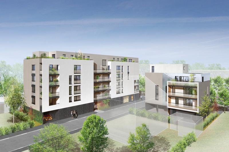 Appartement neuf, 57,65 m²