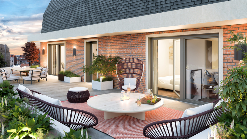 Appartement neuf, 41,01 m²
