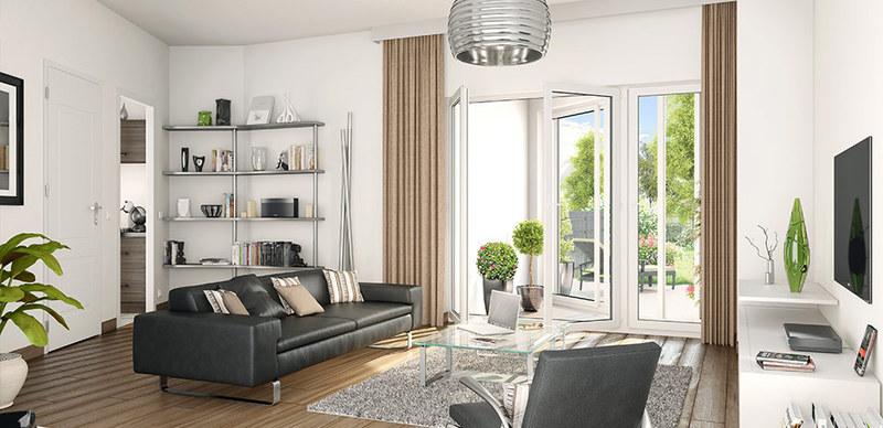 Appartement neuf, 73,2 m²