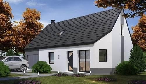 Maison neuve, 102,37 m²