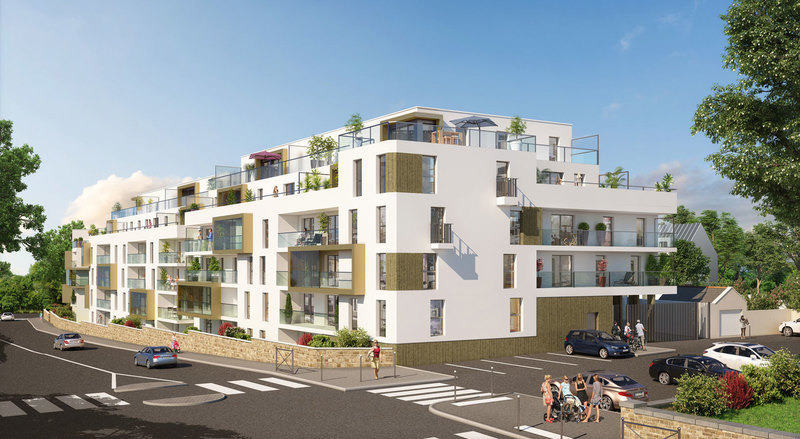 Appartement neuf, 40,8 m²