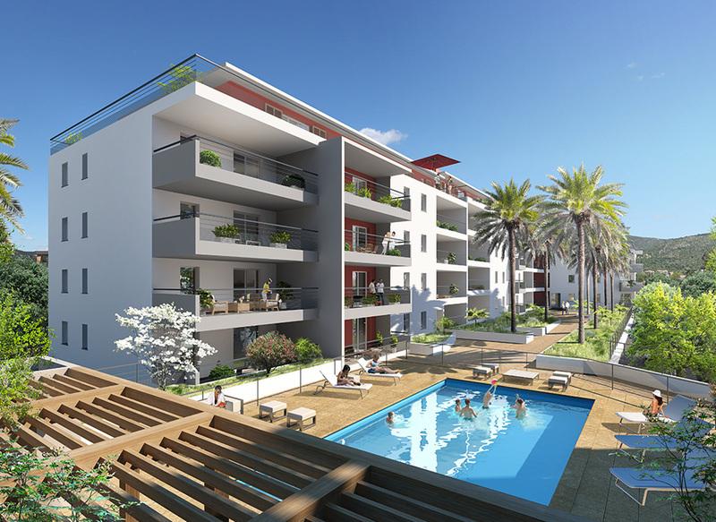 Appartement neuf, 66,56 m²