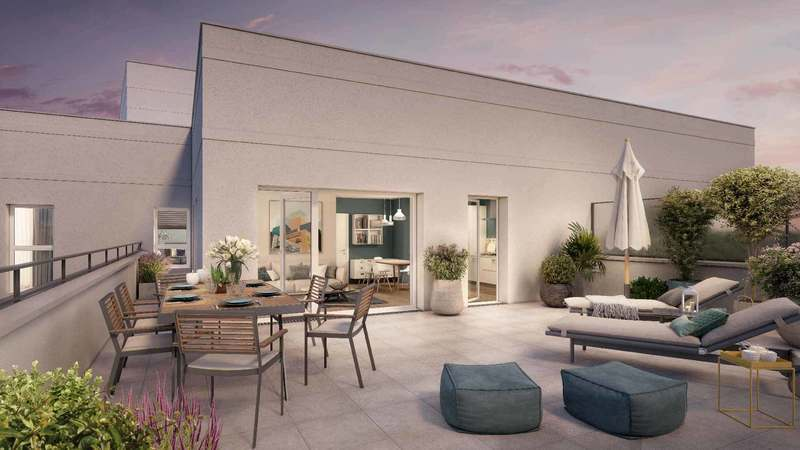 Appartement neuf, 42,04 m²
