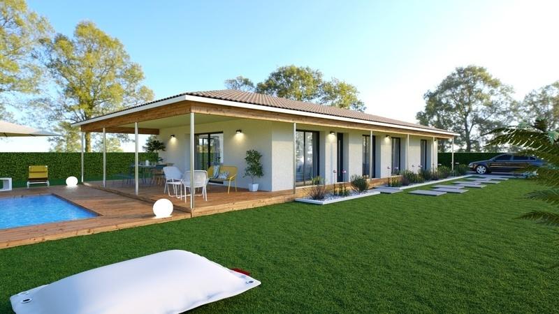 Maison neuve, 113,13 m²