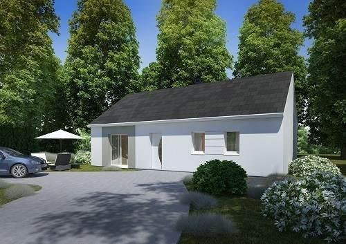Maison neuve, 84,73 m²