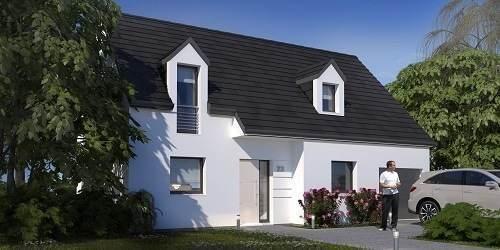 Maison neuve, 92,57 m²