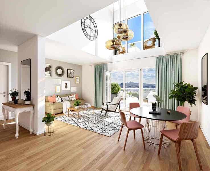 Appartement neuf, 28,23 m²