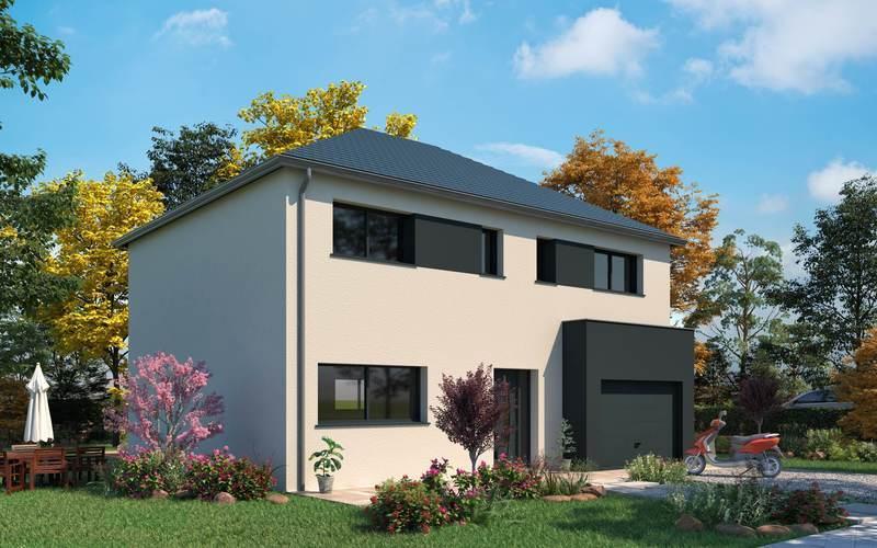 Maison neuve, 128,82 m²