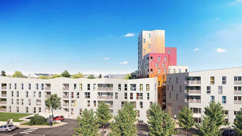Appartement neuf, 62,15 m²