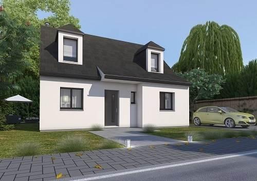 Maison neuve, 84,8 m²