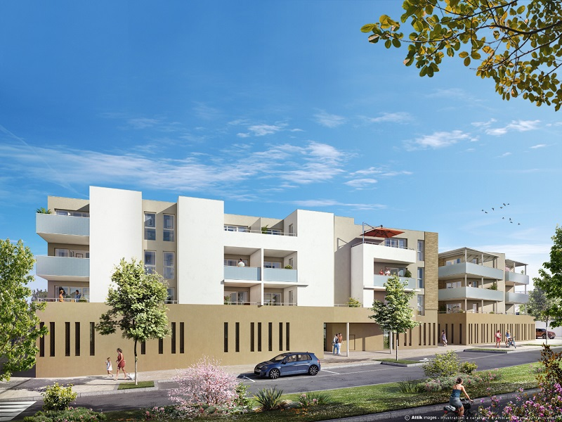 Appartement neuf, 59,1 m²