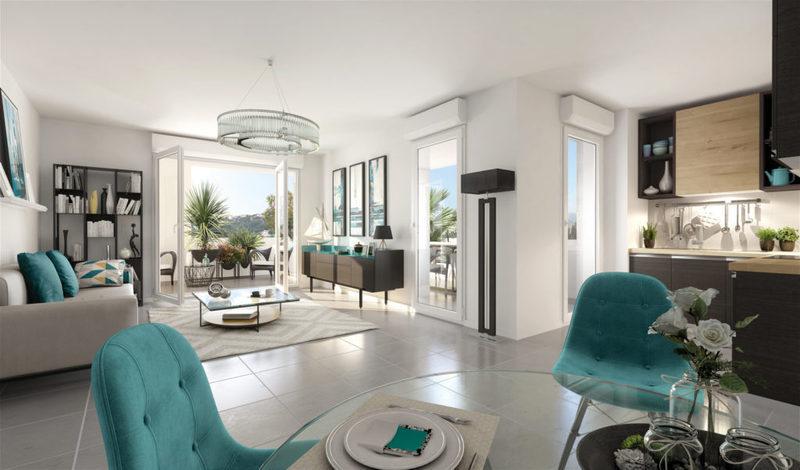 Appartement neuf, 60,47 m²