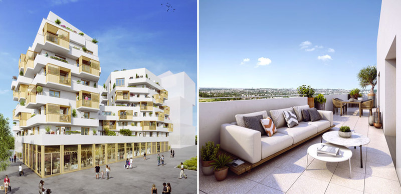 Appartement neuf, 39,35 m²