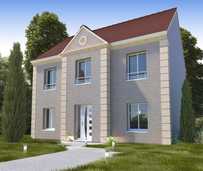 Maison neuve, 128,14 m²
