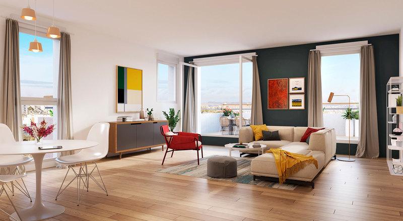 Appartement neuf, 76,77 m²