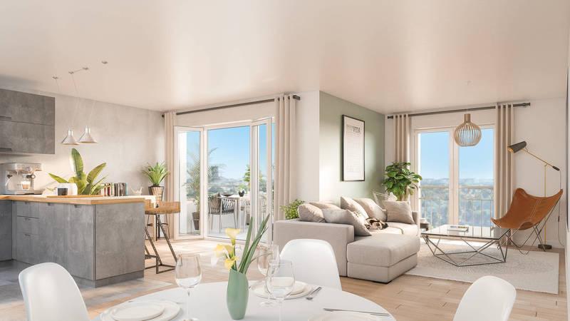 Appartement neuf, 57,76 m²