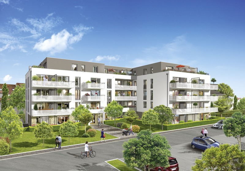 Appartement neuf, 25 m²