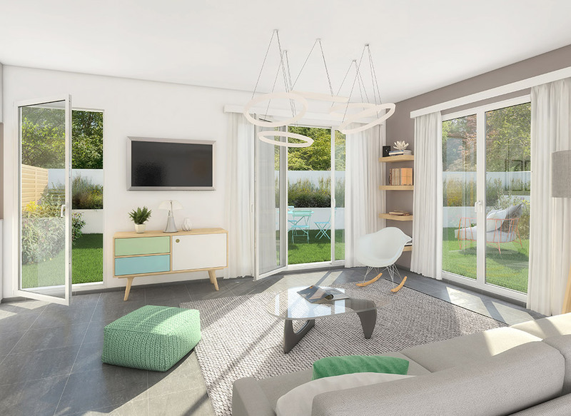 Appartement neuf, 34,9 m²