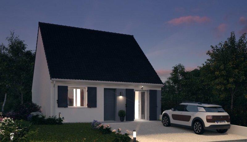 Maison neuve, 55 m²