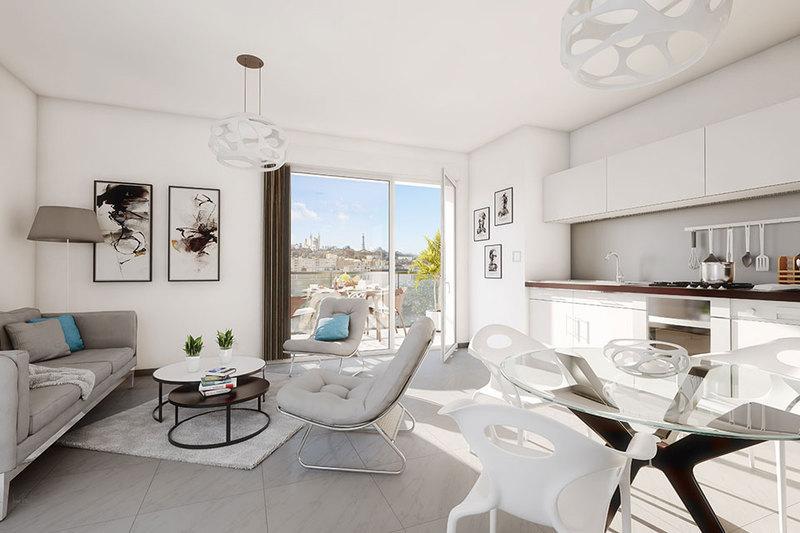 Appartement neuf, 80,62 m²