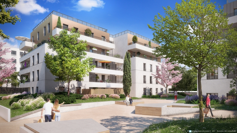 Appartement neuf, 41,7 m²