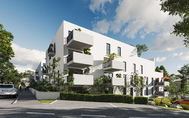Appartement neuf, 45,9 m²
