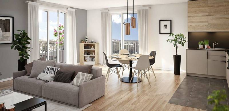 Appartement neuf, 80,7 m²